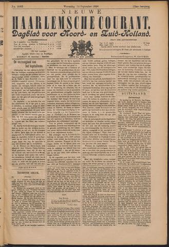 Nieuwe Haarlemsche Courant 1898-09-14