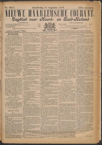 Nieuwe Haarlemsche Courant 1898-08-11