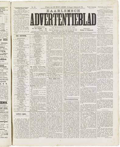 Haarlemsch Advertentieblad 1882-10-11