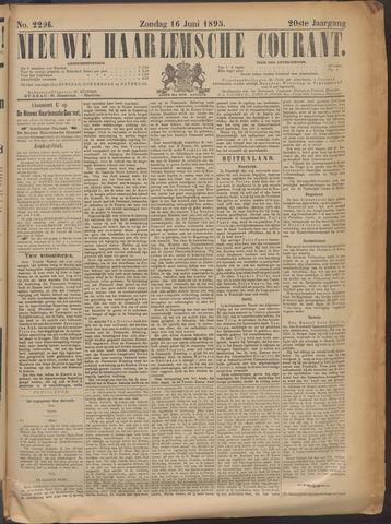 Nieuwe Haarlemsche Courant 1895-06-16