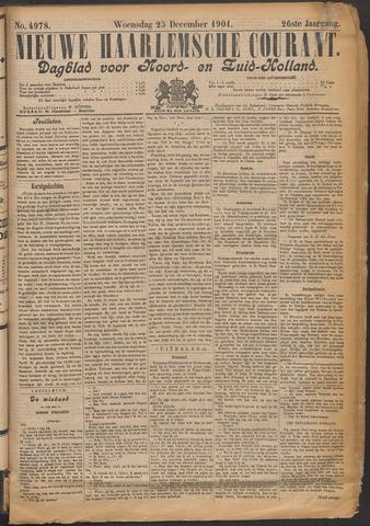 Nieuwe Haarlemsche Courant 1901-12-25