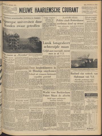 Nieuwe Haarlemsche Courant 1959-10-19