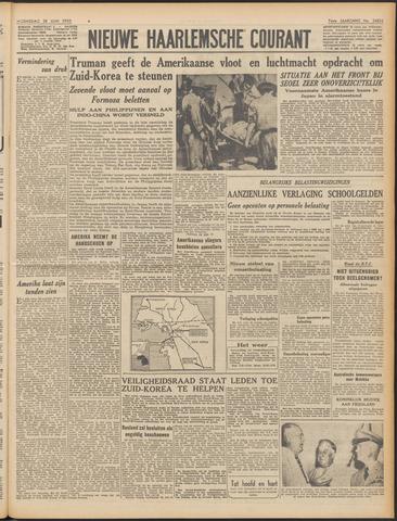 Nieuwe Haarlemsche Courant 1950-06-28