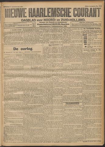 Nieuwe Haarlemsche Courant 1914-08-11