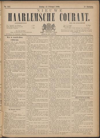 Nieuwe Haarlemsche Courant 1880-02-22