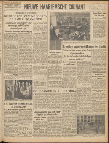 Nieuwe Haarlemsche Courant 1947-10-29
