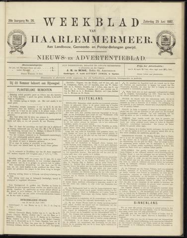 Weekblad van Haarlemmermeer 1887-06-25