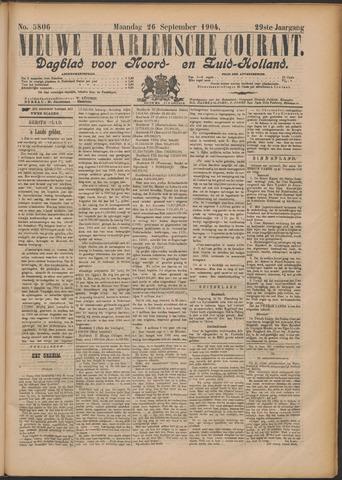 Nieuwe Haarlemsche Courant 1904-09-26