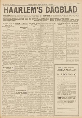 Haarlem's Dagblad 1926-12-16