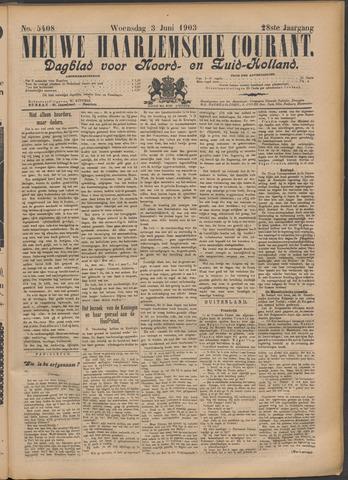 Nieuwe Haarlemsche Courant 1903-06-03