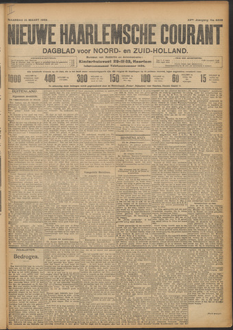 Nieuwe Haarlemsche Courant 1909-03-15