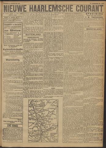Nieuwe Haarlemsche Courant 1917-08-14