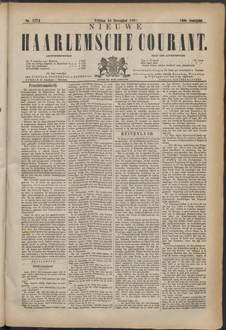 Nieuwe Haarlemsche Courant 1891-12-18