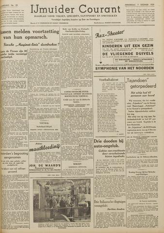 IJmuider Courant 1939-12-07