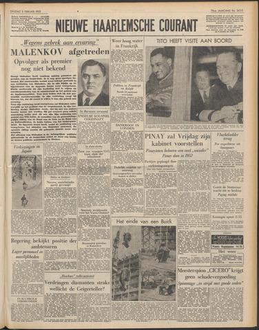 Nieuwe Haarlemsche Courant 1955-02-08