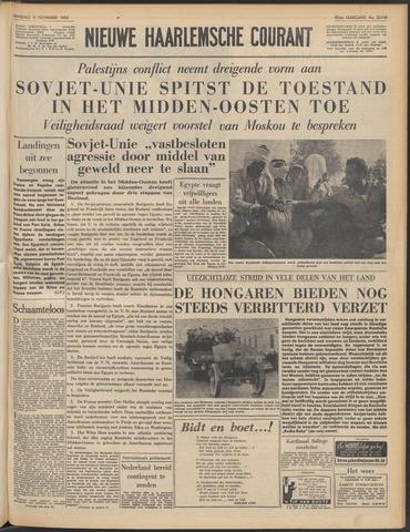 Nieuwe Haarlemsche Courant 1956-11-06