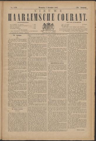 Nieuwe Haarlemsche Courant 1887-12-07