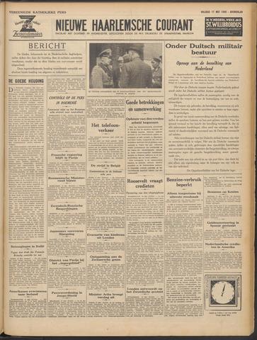 Nieuwe Haarlemsche Courant 1940-05-17