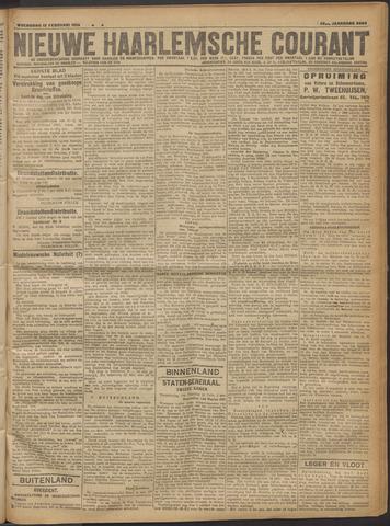 Nieuwe Haarlemsche Courant 1919-02-12