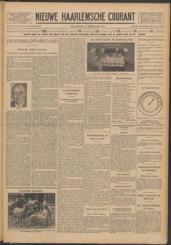 Nieuwe Haarlemsche Courant 1932-02-29