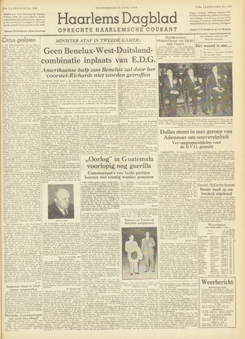 Haarlem's Dagblad 1954-06-24