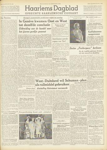 Haarlem's Dagblad 1951-08-30