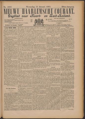 Nieuwe Haarlemsche Courant 1905-01-11