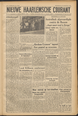 Nieuwe Haarlemsche Courant 1946-08-28