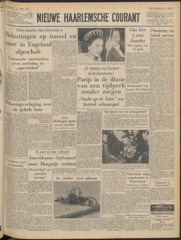 Nieuwe Haarlemsche Courant 1957-04-10
