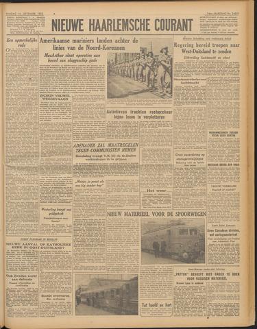 Nieuwe Haarlemsche Courant 1950-09-15