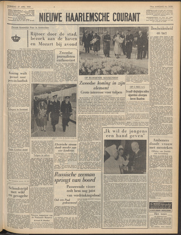 Nieuwe Haarlemsche Courant 1955-04-27
