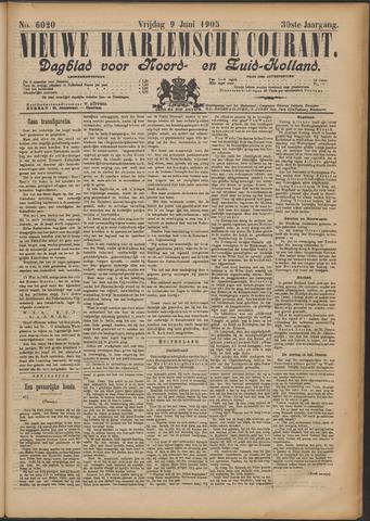 Nieuwe Haarlemsche Courant 1905-06-09