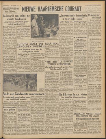 Nieuwe Haarlemsche Courant 1947-09-11