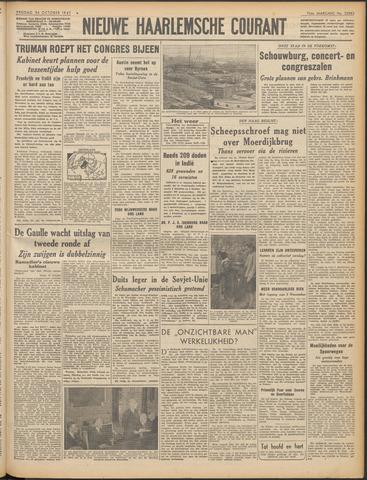 Nieuwe Haarlemsche Courant 1947-10-24