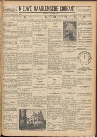 Nieuwe Haarlemsche Courant 1930-04-11