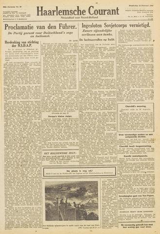 Haarlemsche Courant 1943-02-25