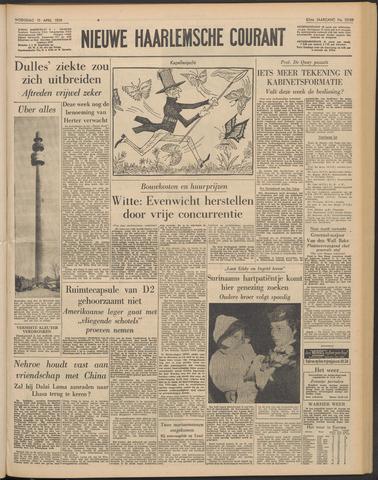Nieuwe Haarlemsche Courant 1959-04-15