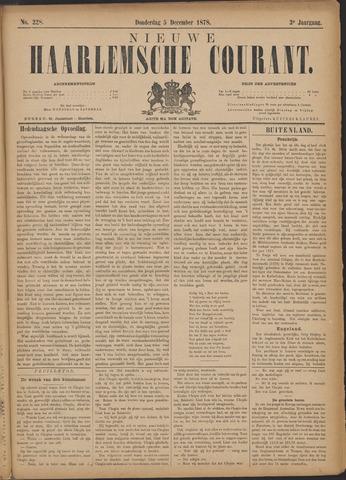 Nieuwe Haarlemsche Courant 1878-12-05