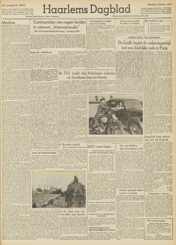 Haarlem's Dagblad 1947-10-06