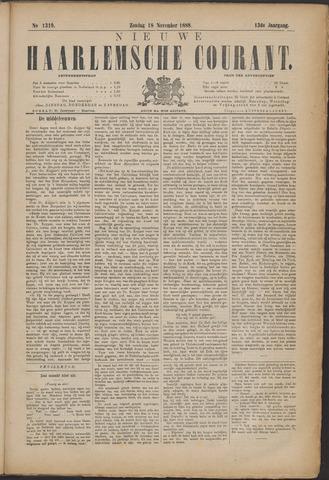 Nieuwe Haarlemsche Courant 1888-11-18