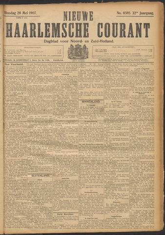 Nieuwe Haarlemsche Courant 1907-05-28