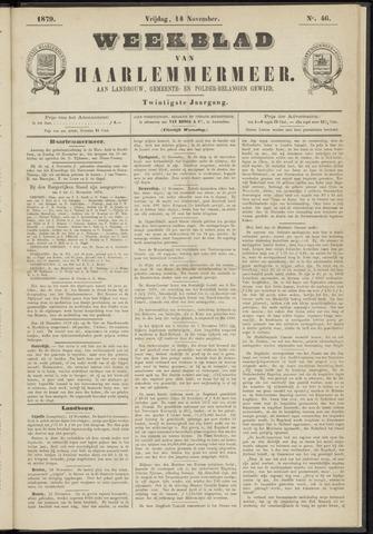 Weekblad van Haarlemmermeer 1879-11-14