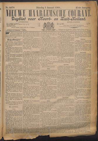 Nieuwe Haarlemsche Courant 1901-01-01