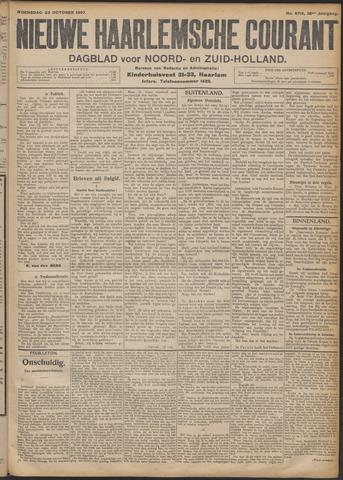 Nieuwe Haarlemsche Courant 1907-10-23