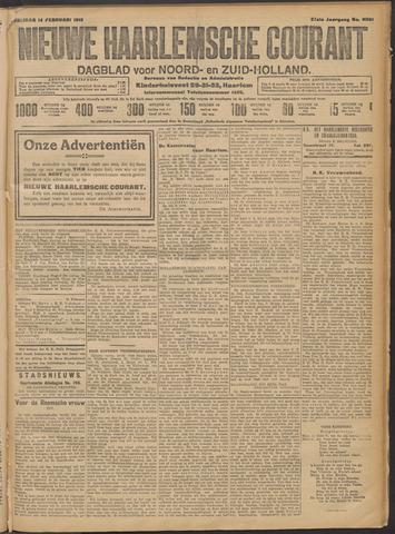 Nieuwe Haarlemsche Courant 1913-02-14