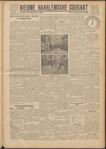 Nieuwe Haarlemsche Courant 1922-09-25