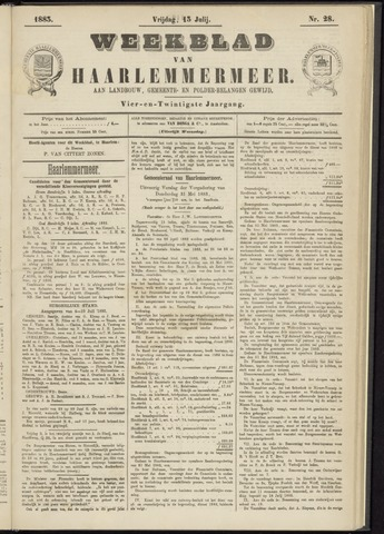 Weekblad van Haarlemmermeer 1883-07-13