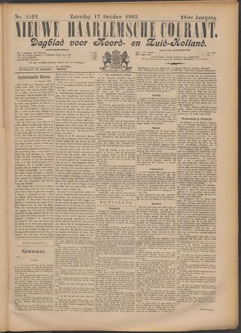 Nieuwe Haarlemsche Courant 1903-10-17