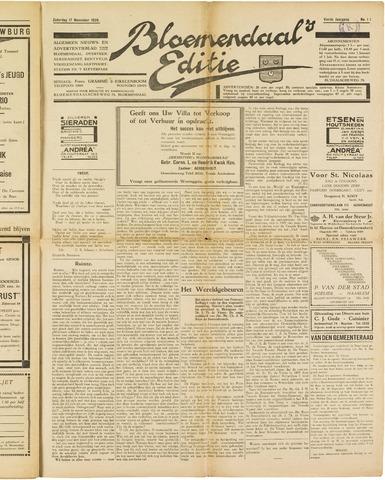 Bloemendaal's Editie 1928-11-17