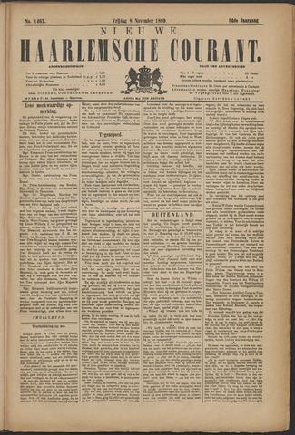 Nieuwe Haarlemsche Courant 1889-11-08